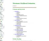 BGIM : Maximum Likelihood Estimation Primer