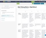 Risk-Taking Rubric—High School