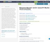 Elementary Spanish - Level 6 - Lesson 59 - Sharkie está de vacaciones
