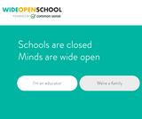 Wide Open School: Online Teaching Resources