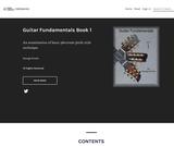 Guitar Fundamentals Book 1