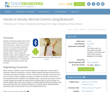 Remote Control Using Bluetooth