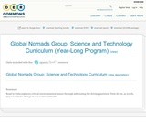 Global Nomads Group: Science and Technology Curriculum (Year-Long Program)