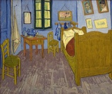 English practice with a virtual tour of Van Gogh's Bedroom
