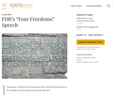 "FDR's ""Four Freedoms"" Speech"