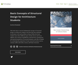 Basic Concepts of Structural Design for Architecture Students