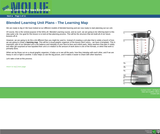 Creating a Blended Learning Unit Map