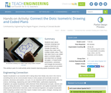 Connect the Dots: Isometric Drawing and Coded Plans