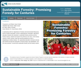 Sustainable Forestry: Promising Forestry for Centuries