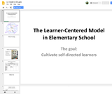 Learner Centered Model in Elementary School