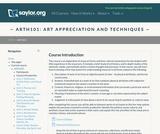 Art Appreciation and Techniques
