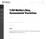 7.RP Molly's Run, Assessment Variation