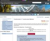 Transformation 2 - Transformation Methods