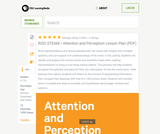Attention and Perception Lesson Plan