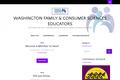 Washington Family & Consumer Sciences Educators – A Section of WA-ACTE – Washington Association of Career & Technical Educators