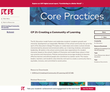 CP 21: Creating a Community of Learning