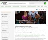 Digital Literacy and Citizenship Curriculum for Grades 9-12