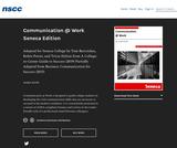 Communication at Work Seneca Edition