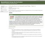 Introduction to Hazard and Risk: Part 2