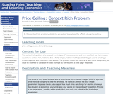 Context Rich Problem: Price Ceiling