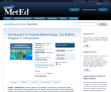Introduction to Tropical Meteorology, 2nd Edition, Chapter 1: Introduction