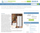 Walk the Line: A Module on Linear Functions