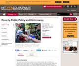 Poverty, Public Policy and Controversy, Fall 2003
