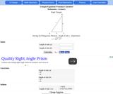 AJ Triangle Equations and Formulas Calculator