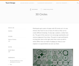 Teach Design : 30 Circles