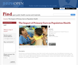 The Impact of Primary Care on Population Health