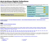 ALA Archives Digital Collections
