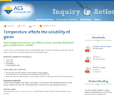 Temperature Affects the Solubility of Gases