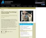 Discovering Psychology: Updated Edition
