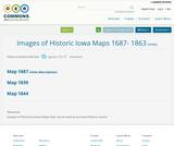 Images of Historic Iowa Maps 1687- 1863