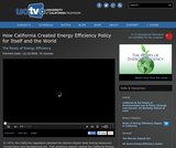 The Roots of Energy Efficiency: How California Created Energy Efficiency Policy for Itself and the World