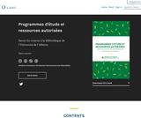Programmes d'étude et ressources autorisées
