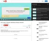 #10 Java Tutorial: Interfaces #neue Version