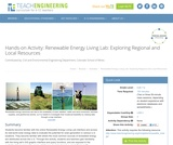 Renewable Energy Living Lab: Exploring Regional and Local Resources