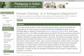 Human Cloning: Is it biological plagiarism?