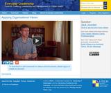 Applying Organizational Values | Everyday Leadership