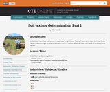 Soil Texture Determination Part 1