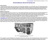 Ephesus Municipal Water System Analysis