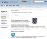 Health Management I Module Guide