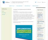 Common Core Implementation Workbook
