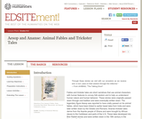 Aesop and Ananse: Animal Fables and Trickster Tales