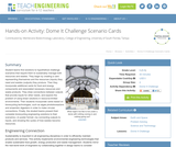 Dome It Challenge Scenario Cards