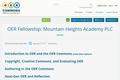 OER Fellowship: Training for Educators
