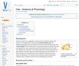Hair - Anatomy & Physiology
