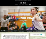 Lady Thunderhawks: Connecting the Culture