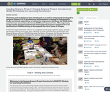 Condon Science Project: Oregon Science Project Introductory NGSS PD Module for Learning Facilitators